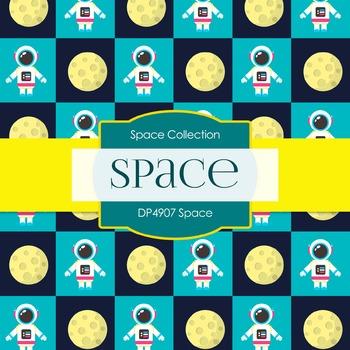 Digital Papers - Space (DP4907)
