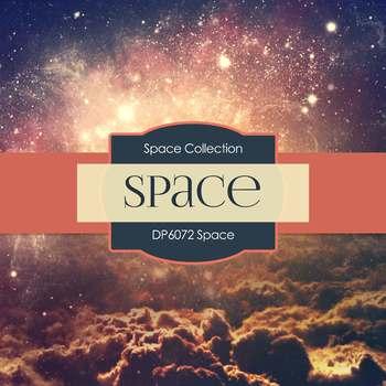 Digital Papers - Space (DP6072)