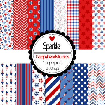 Digital Papers Sparkle