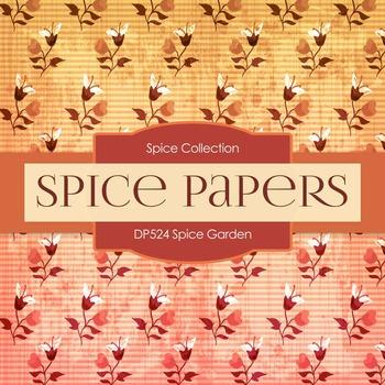 Digital Papers - Spice Garden (DP524)