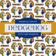 Digital Papers - Spiky Hedgehog (DP6701)