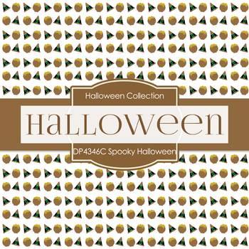 Digital Papers - Spooky Halloween (DP4346C)