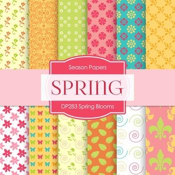 Digital Papers - Spring Blooms (DP283)