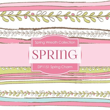 Digital Papers - Spring Charm (DP1151)