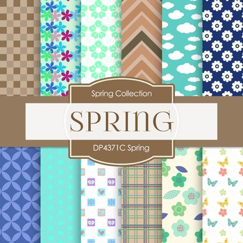 Digital Papers - Spring (DP4371C)