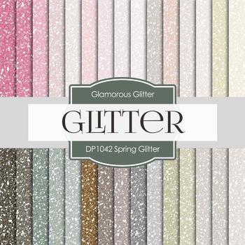 Digital Papers - Spring Glitter (DP1042)