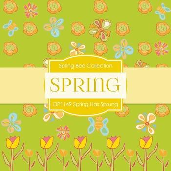 Digital Papers - Spring Has Sprung (DP1149)