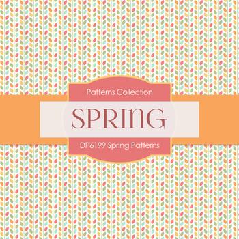 Digital Papers - Spring Patterns (DP6199)