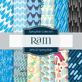 Digital Papers - Spring Rain (DP2127)