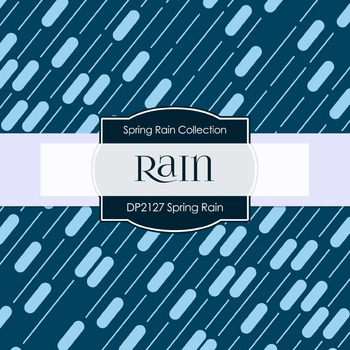 Digital Papers - Spring Rain (DP2127)