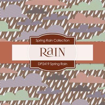 Digital Papers - Spring Rain (DP2419)