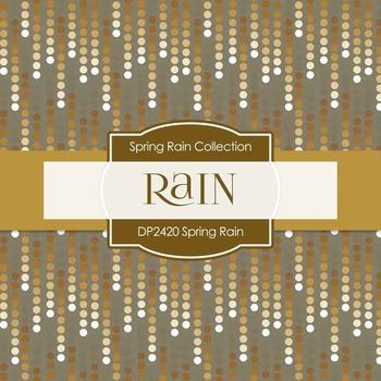 Digital Papers - Spring Rain (DP2420)
