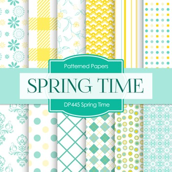 Digital Papers - Spring Time (DP445)