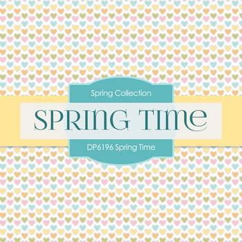 Digital Papers - Spring Time (DP6196)