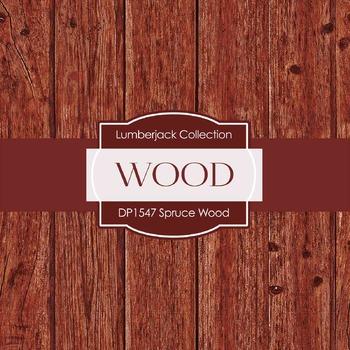 Digital Papers -  Spruce Wood (DP1547)