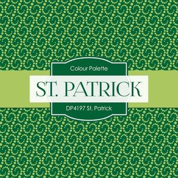 Digital Papers - St. Patrick (DP4197)