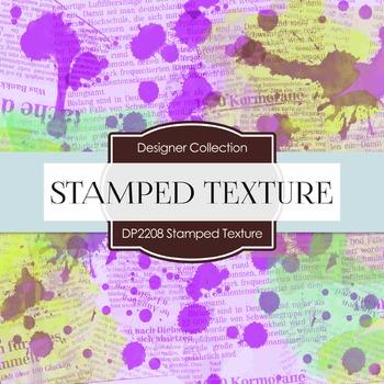 Digital Papers - Stamped Texture (DP2208)