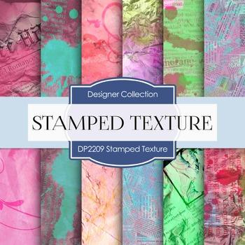 Digital Papers - Stamped Texture (DP2209)