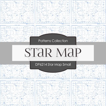 Digital Papers - Star Map Small (DP6214)