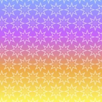 Digital Papers - Starbursts