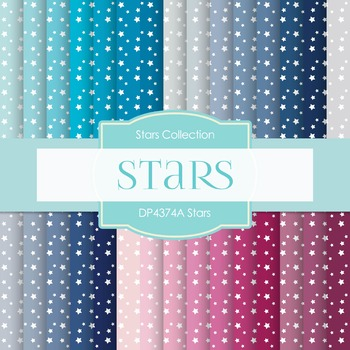 Digital Papers - Stars (DP4374A)
