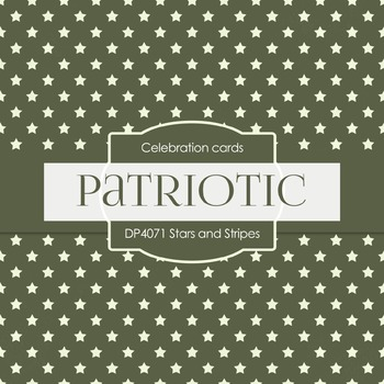 Digital Papers -  Stars and Stripes (DP4071)