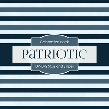 Digital Papers -  Stars and Stripes (DP4072)