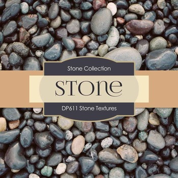 Digital Papers - Stone Textures (DP611)