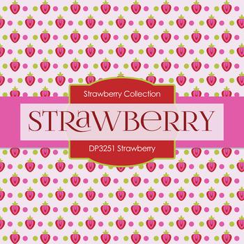 Digital Papers - Strawberry (DP3251)