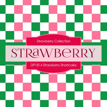 Digital Papers - Strawberry Shortcake (DP1814)