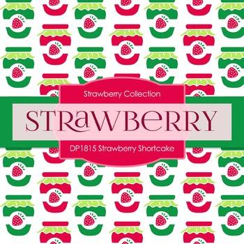 Digital Papers - Strawberry Shortcake (DP1815)