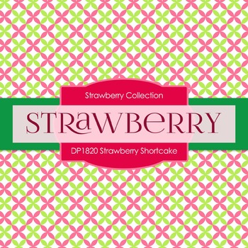 Digital Papers - Strawberry Shortcake (DP1820)