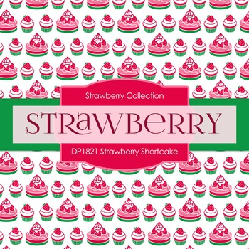 Digital Papers - Strawberry Shortcake (DP1821)