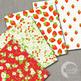 Strawberry Digital Papers, {Best Teacher Tools} AMB-497