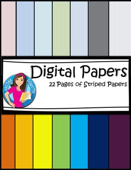 Digital Papers - Stripes