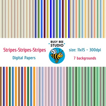 Digital Papers: Stripes