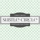 Digital Papers - Subtle Circle Overlap (DP6209)