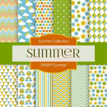 Digital Papers - Summer (DP3379)