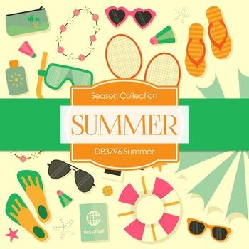 Digital Papers - Summer (DP3796)
