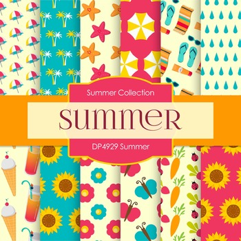 Digital Papers - Summer (DP4929)