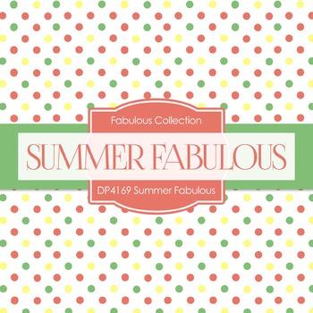 Digital Papers - Summer Fabulous (DP4169)