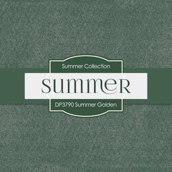 Digital Papers - Summer Golden (DP3790)