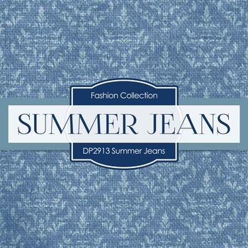Digital Papers - Summer Jeans (DP2719)