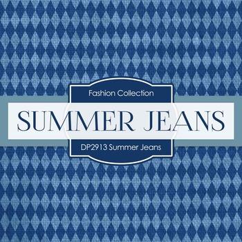 Digital Papers - Summer Jeans (DP2913)