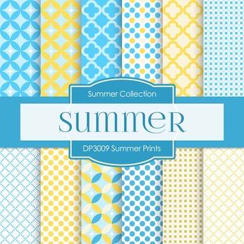 Digital Papers - Summer Prints (DP3009)