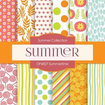 Digital Papers - Summertime (DP4827)