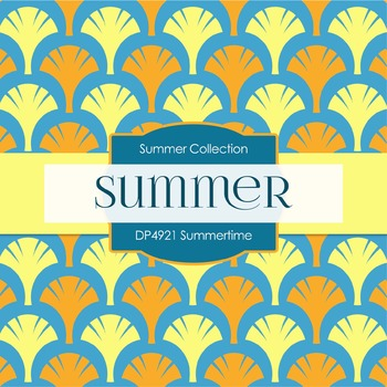 Digital Papers - Summertime (DP4921)