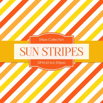 Digital Papers - Sun Stripes (DP4163)