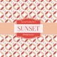 Digital Papers - Sunset (DP4266)