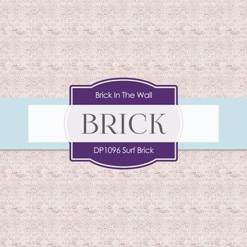 Digital Papers - Surf Brick (DP1096)